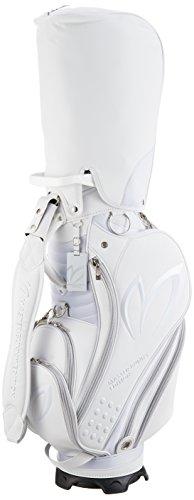 [マスターバニー バイ パーリーゲイツ] キャディバッグ ツアータイプ ( ネオプレーン PVC ) / 158-7980055 [ 定番 ] ゴルフ バッグ 158-7980055 030 ホワイト