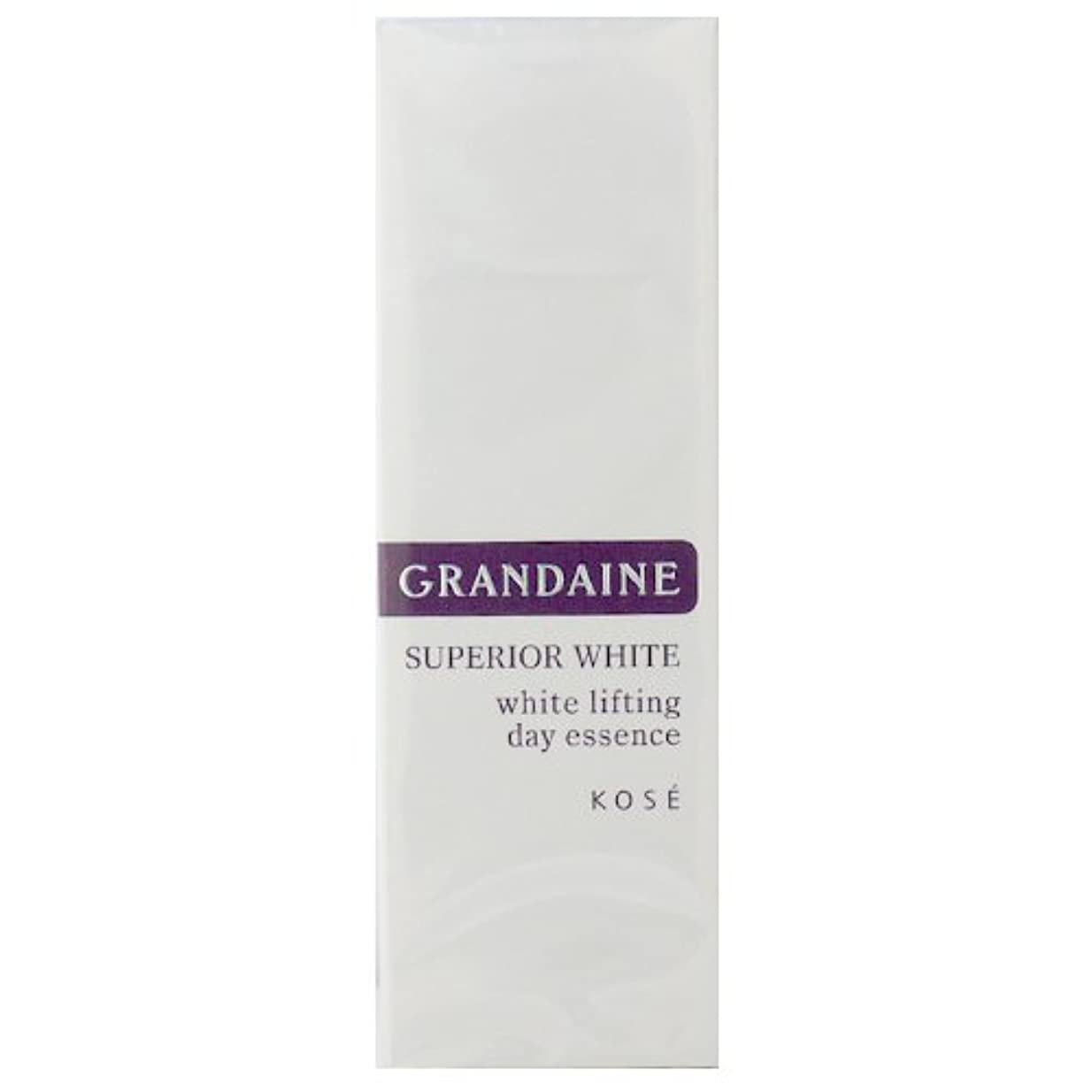 敬意解く首コーセー グランデーヌ スーペリア ホワイト ホワイトリフティング デイエッセンス SPF30 PA++ 30g