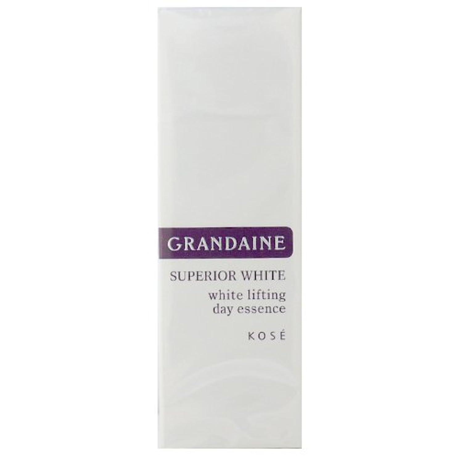 してはいけません安全なコーセー グランデーヌ スーペリア ホワイト ホワイトリフティング デイエッセンス SPF30 PA++ 30g