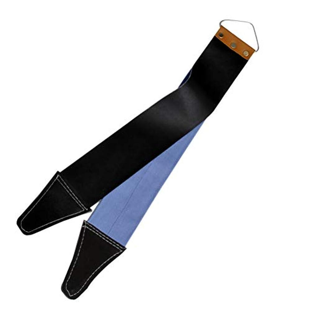松明セットアップ昨日Healifty まっすぐなかみそりと滑らかなかみそりのためのかみそりの革紐