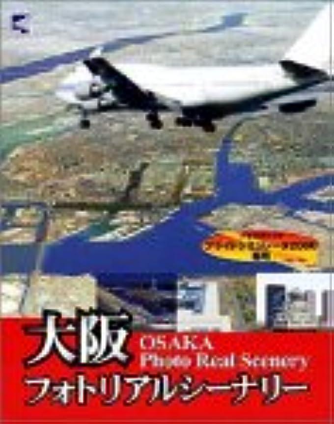 ホットほこり流用する大阪フォトリアルシーナリーfor Flight Simulator 2000