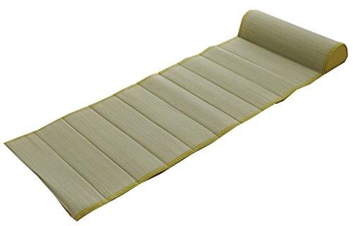 イケヒコ クッション 無地 ごろ寝クッション ごろ寝枕 フリーシート い草クッション ぽこぽこ 『プチ ねころんぼ』 グリーン 約55×150cm