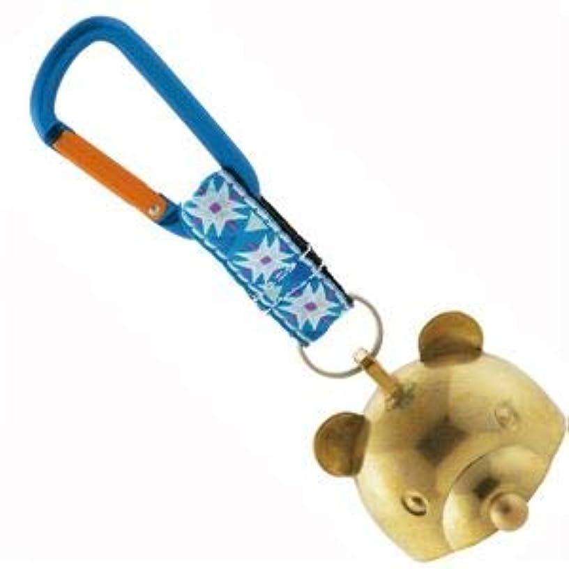 支給カイウス等しいbelmont(ベルモント)熊よけ鈴 消音小熊ちゃんベル(大)