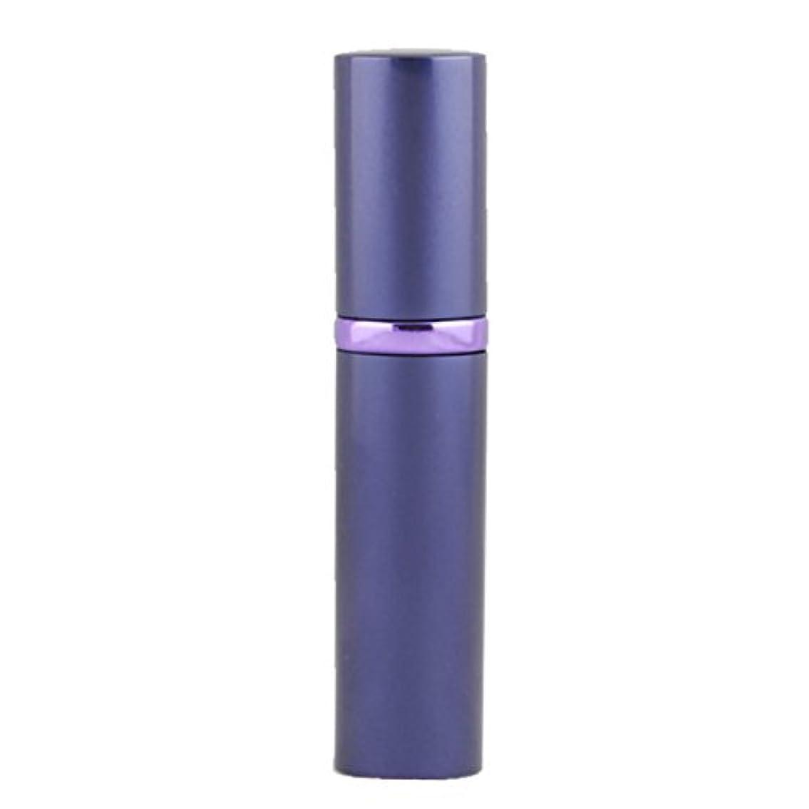 保証する虚弱締め切りアトマイザ- 詰め替え AsaNana ポータブル クイック 香水噴霧器 携帯用 詰め替え容器 香水用 ワンタッチ補充 香水スプレー パフューム Quick Atomizer プシュ式 (パープル Purple)