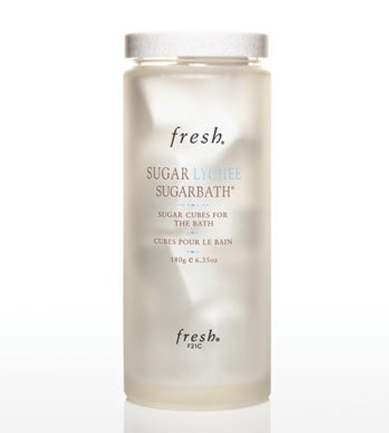 回復するうねる表示Fresh SUGAR LYCHEE SUGARBATH CUBES (フレッシュ シュガーライチ シュガーバスキューブ) 6.3 oz (180g) by Fresh for Women