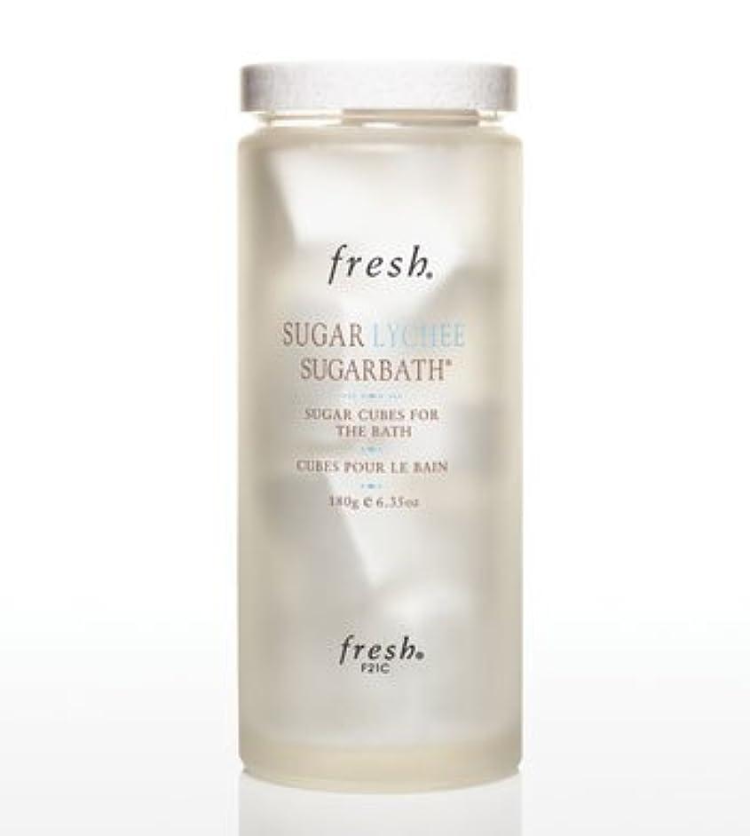 Fresh SUGAR LYCHEE SUGARBATH CUBES (フレッシュ シュガーライチ シュガーバスキューブ) 6.3 oz (180g) by Fresh for Women
