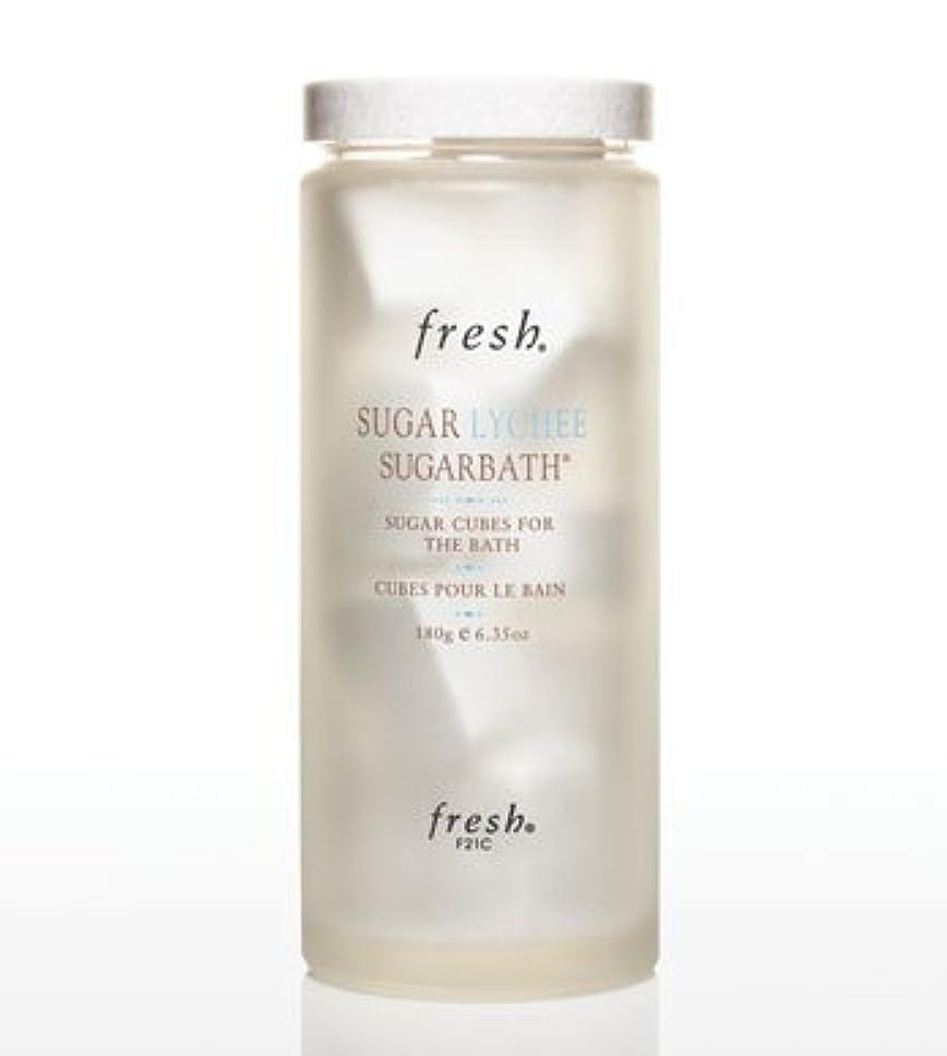 がんばり続ける瞑想する重荷Fresh SUGAR LYCHEE SUGARBATH CUBES (フレッシュ シュガーライチ シュガーバスキューブ) 6.3 oz (180g) by Fresh for Women