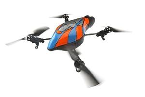 4翼ヘリコプターAR.Droneをkinectで操作すると完全にスターウォーズの世界