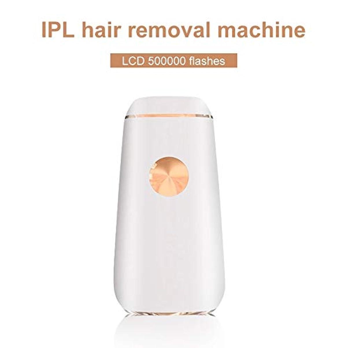 ミニ脱毛器レーザーポータブル永久脱毛装置顔脱毛装置レーザー用すべてのボディ脱毛機500000点滅