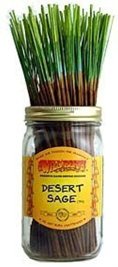 稼ぐ落胆させるシングルDesert Sage – 100ワイルドベリーIncense Sticks