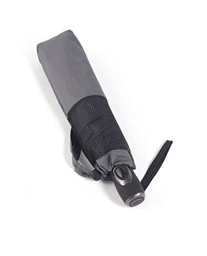 PARACHASE 折り畳み傘 自動開閉 メンズ 傘 風が抜ける 強風対応 ワンタッチ 耐風 おしゃれ 8本骨 直径102cm (K2-グレー)