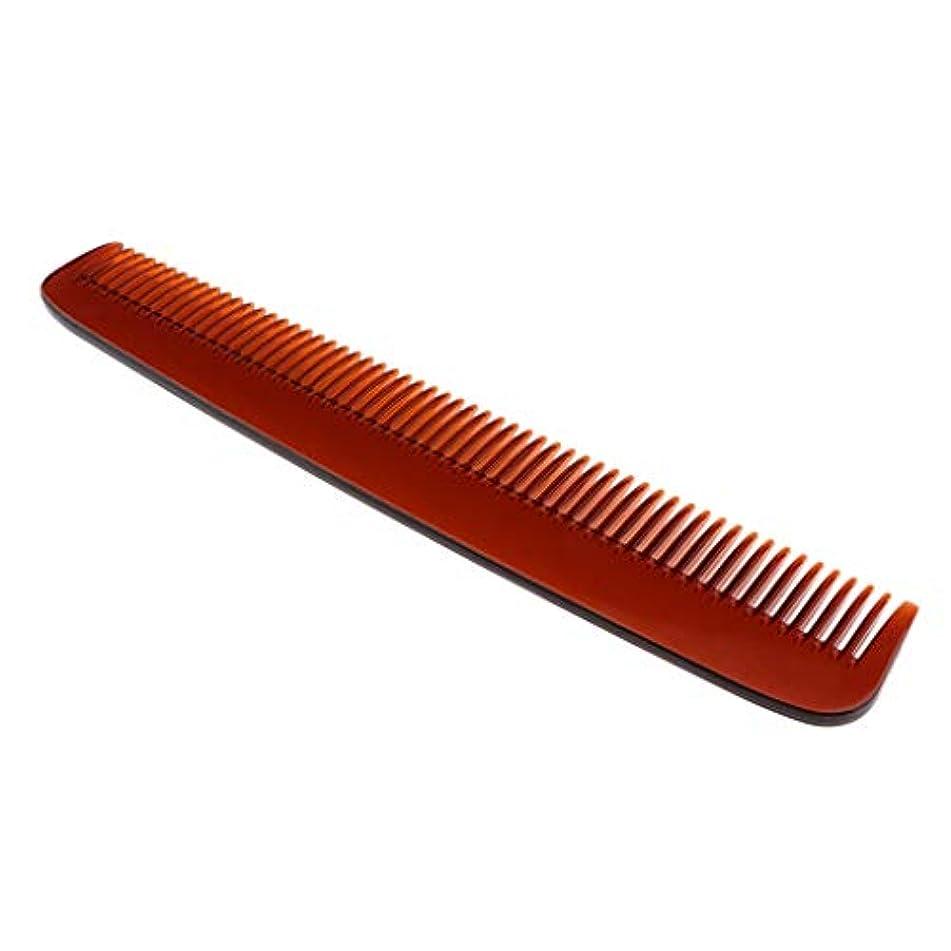 パウダー包括的プレゼントPerfeclan 全3色 プラスチック 櫛 ヘアケア ヘアブラシ ヘアコーム ヘアスタイリング 帯電防止 耐久性 - 褐色