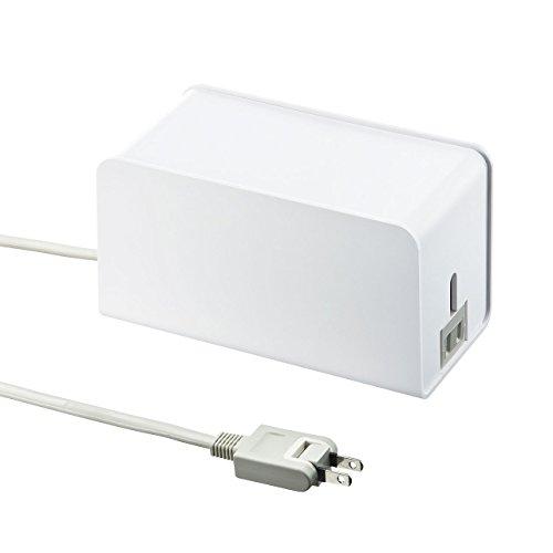 サンワサプライ サンワサプライ サンワサプライ ケーブル&タップ収納ボックス ホワイト CB-BOXP8W