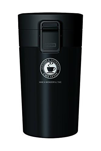 アスベル 真空断熱携帯タンブラー 290ml ブラック
