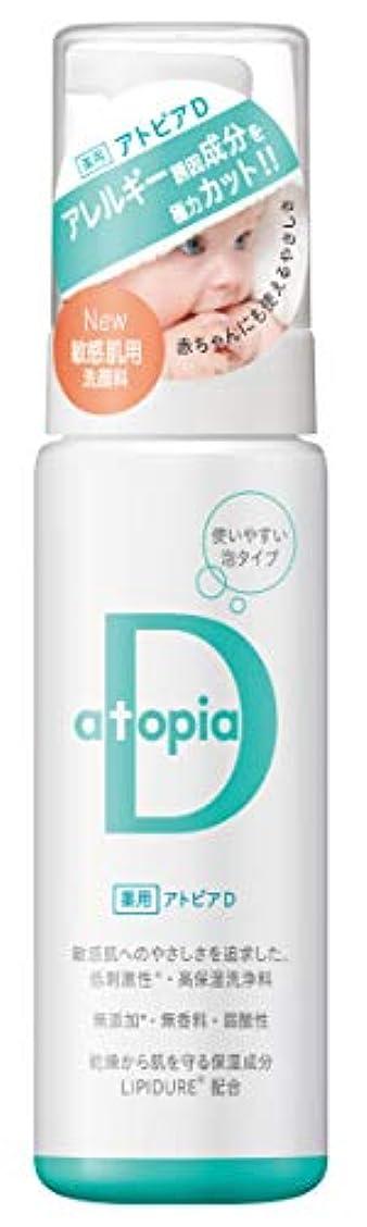 銀うま時計アトピアD (敏感肌用泡タイプ洗顔料) 200ml
