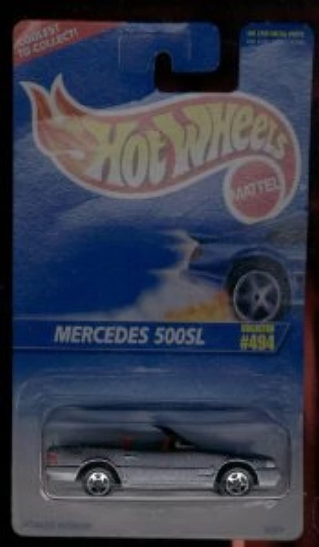 Hot Wheels (ホットウィール) 1995-494 Mercedes (メルセデス?ベンツ) 500sl 1:64 スケール ミニカー ダイキャスト 車 自動車 ミニチュア 模型 (並行輸入)