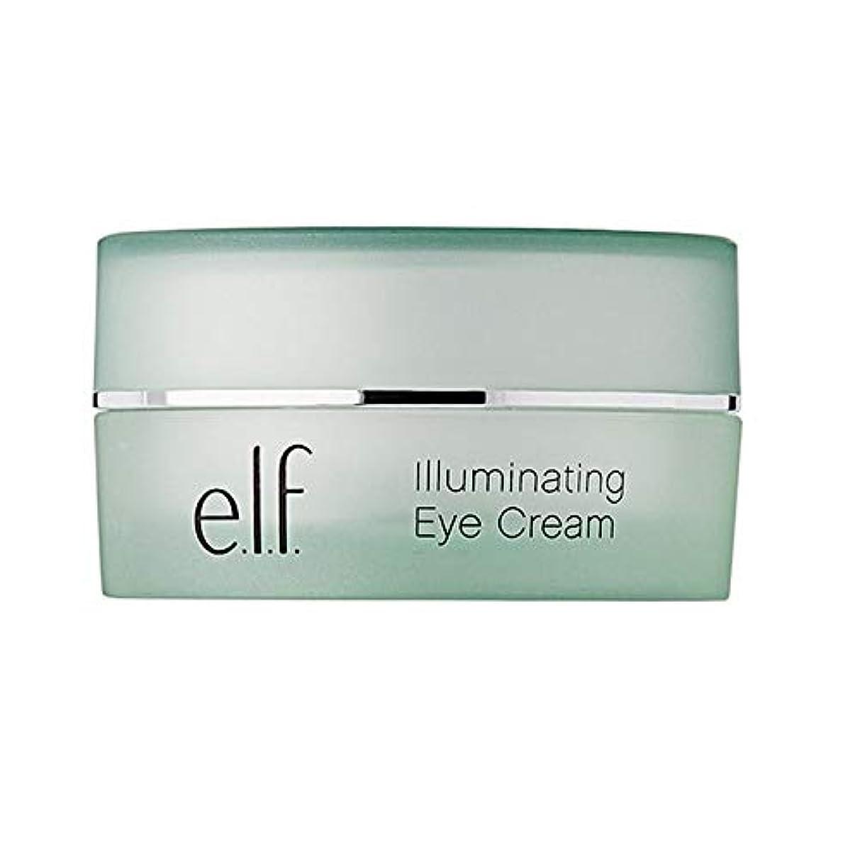 在庫拷問社会科[Elf] エルフ。照明アイクリーム14グラム - e.l.f. Illuminating Eye Cream 14g [並行輸入品]