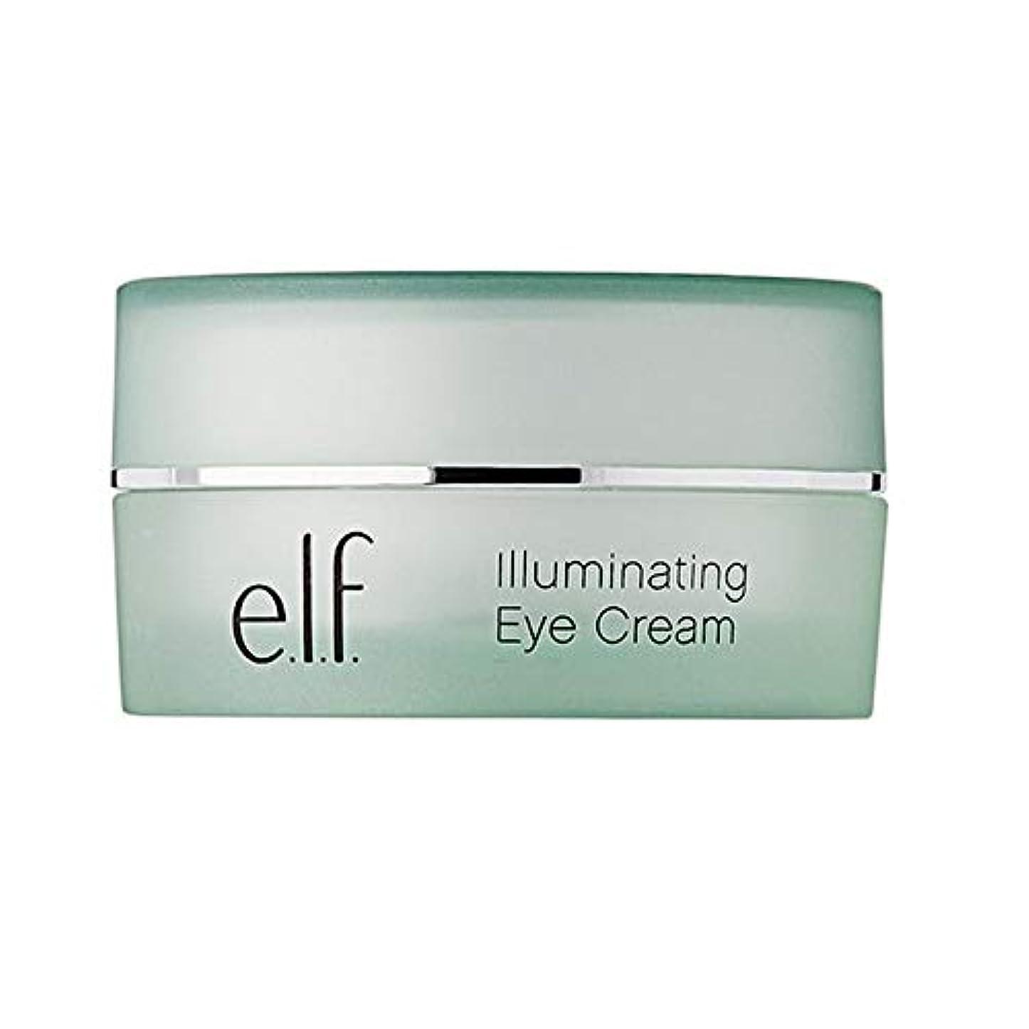 砂のモチーフ不注意[Elf] エルフ。照明アイクリーム14グラム - e.l.f. Illuminating Eye Cream 14g [並行輸入品]
