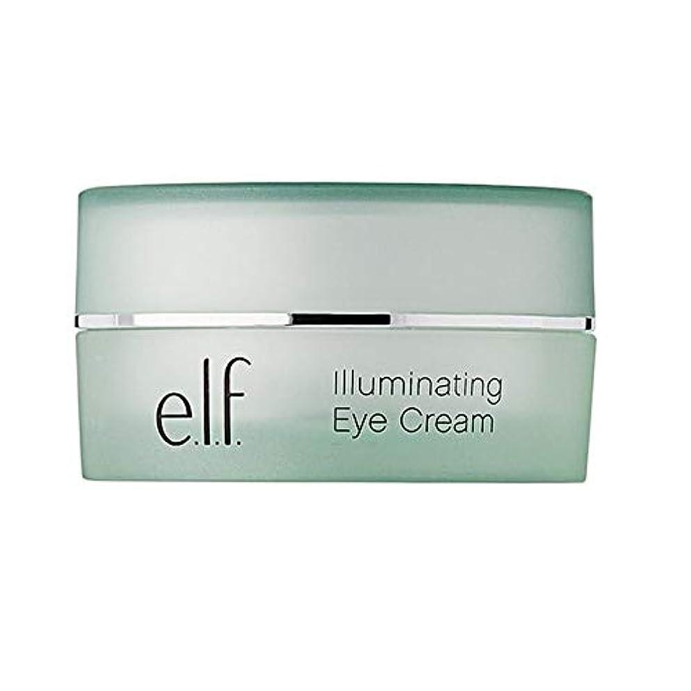 銃曇った咳[Elf] エルフ。照明アイクリーム14グラム - e.l.f. Illuminating Eye Cream 14g [並行輸入品]
