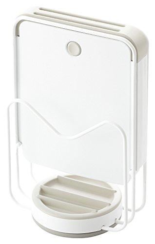 リス キッチン収納 リベラリスタ カッティングボード&ナイフスタンド ホワイト