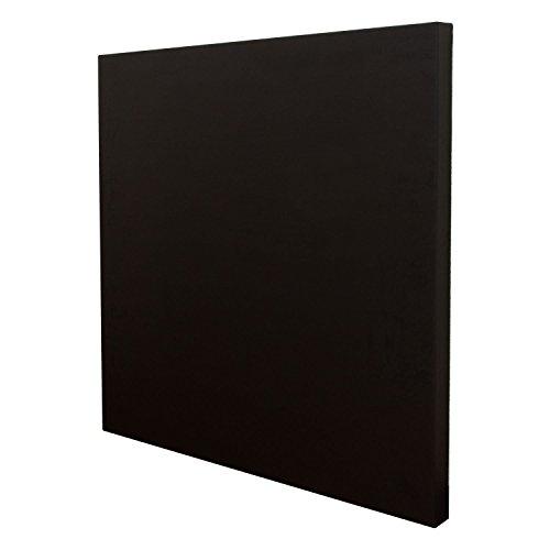 ピアリビング ワンタッチ防音壁 防音 DIY スタンダード ビニール調クロス仕上げ 900×900mm ブラック
