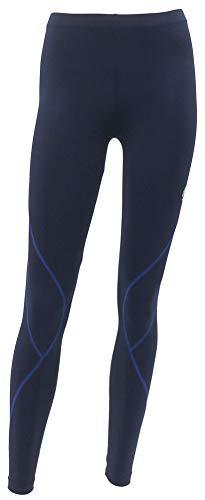 [フィラ] ランニングウェア ロング スポーツタイツ UVカット 吸汗速乾 レギンス ストレッチ レディース ネイビー M