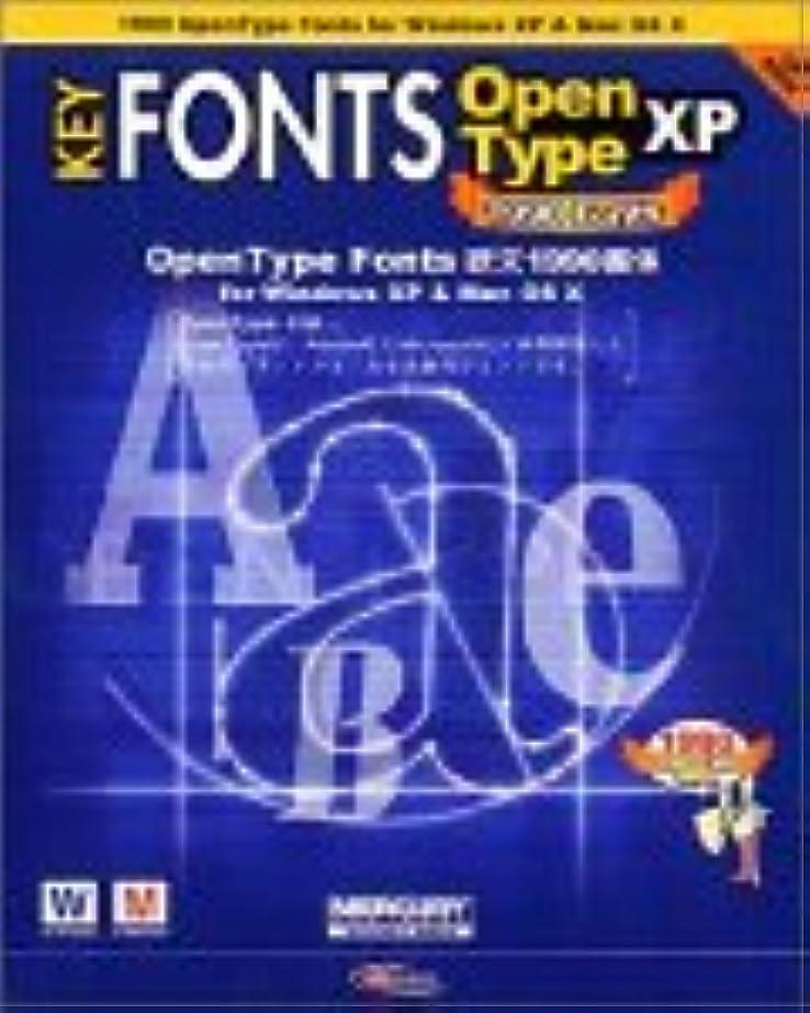 堀微妙櫛KEY FONTS OpenType