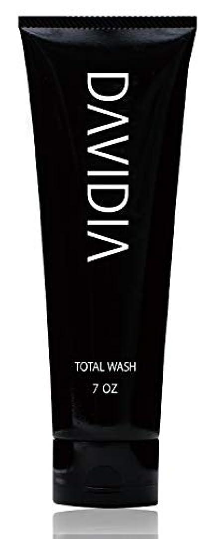 有害な貪欲移行【メンズ 洗顔 ? シャンプー】DAVIDIA(ダビディア) トータルウォッシュ 200g
