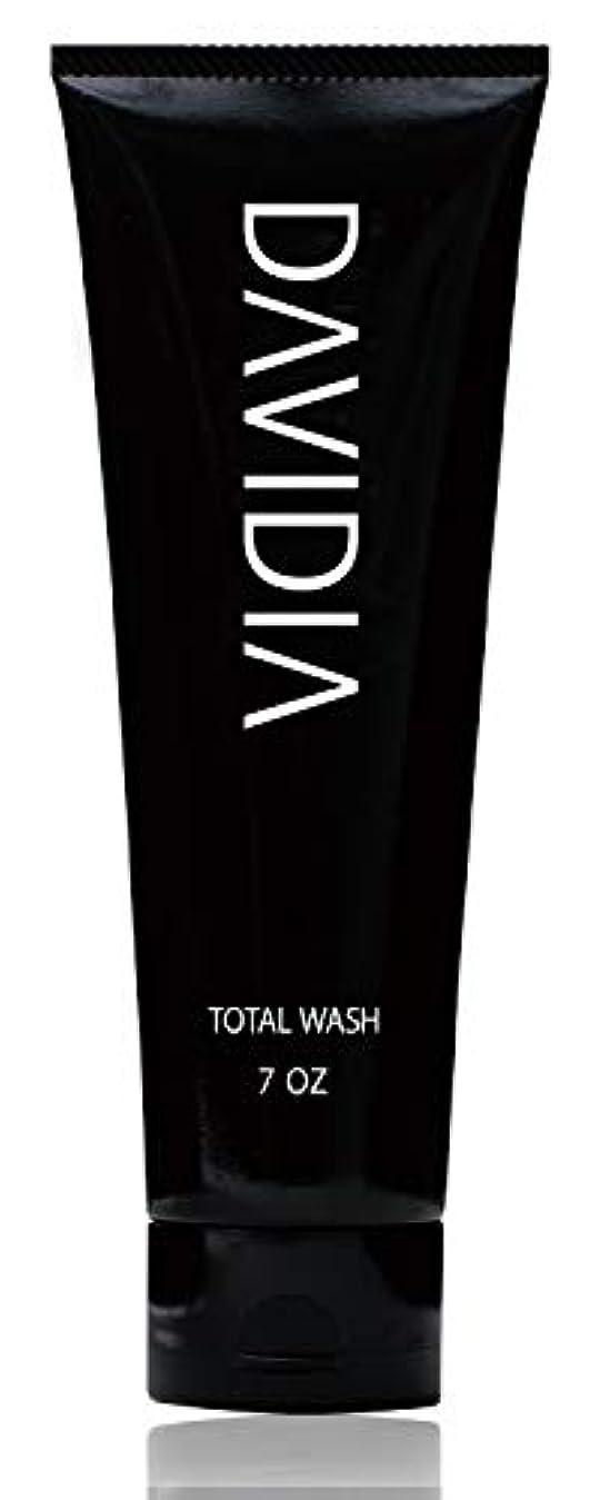 慣れている揮発性約設定【メンズ 洗顔 ? シャンプー】DAVIDIA(ダビディア) トータルウォッシュ 200g