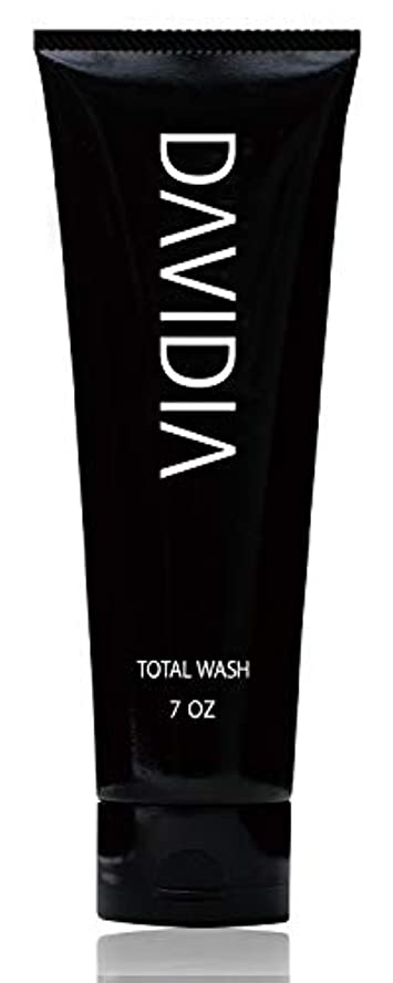 誇りに思う消える次【メンズ 洗顔 ? シャンプー】DAVIDIA(ダビディア) トータルウォッシュ 200g