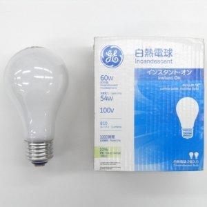 【3個セット】 GE 2個パック 白熱電球 100V 60W形 E26口金 LW100V54WGE2PK