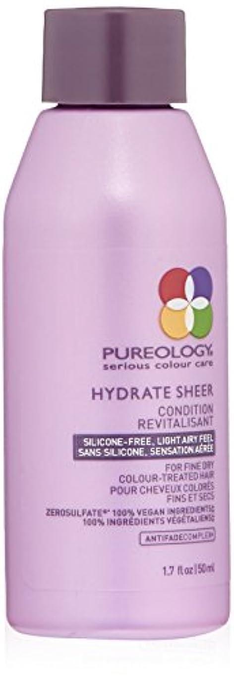 また明日ね毎日後方Pureology 水和物シアーコンディショナー 1.7 fl。オンス 0