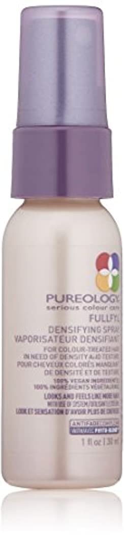 リスク完全に乾く無人Pureology Fullfyl緻密化スプレー、1液量オンス 1.0 fl。オンス