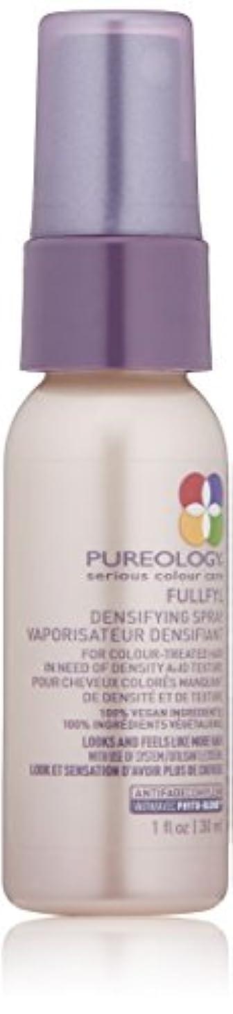 合体まぶしさ消化器Pureology Fullfyl緻密化スプレー、1液量オンス 1.0 fl。オンス