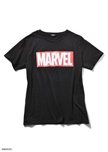 SPINNS MARVEL(マーベル) ボックスロゴTシャツ