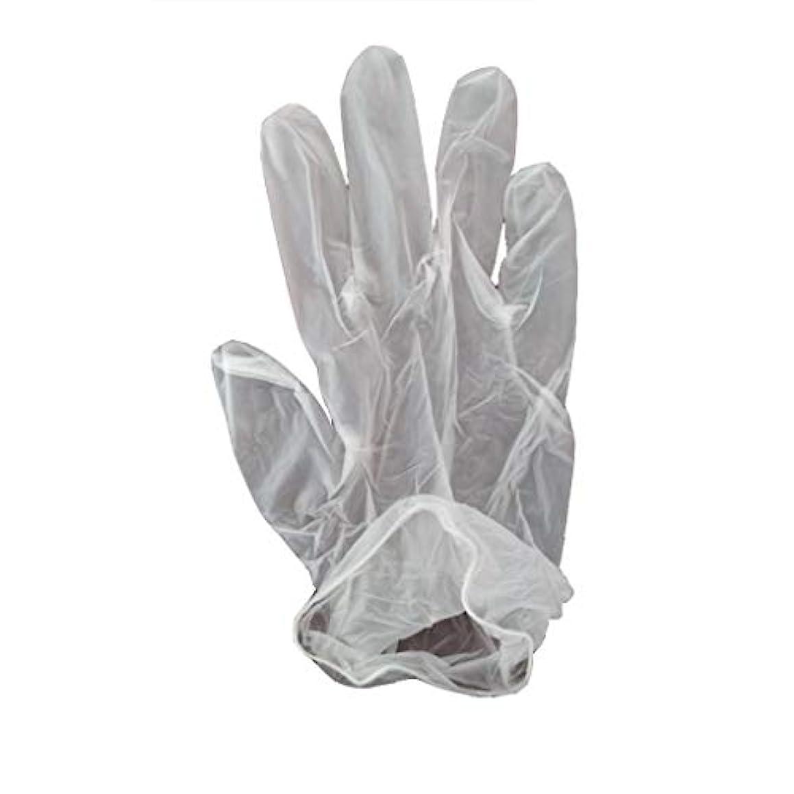 若者気晴らし真実100箱の使い捨て手袋、PVC手袋、透明で濃厚なヘアケア手袋。 (サイズ さいず : XL, UnitCount : 200 only)