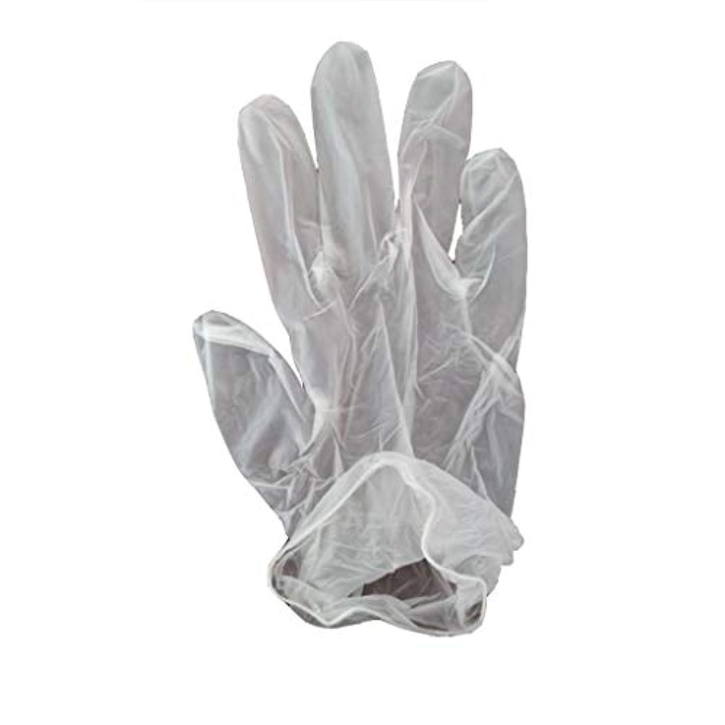 案件リス中性100箱の使い捨て手袋、PVC手袋、透明で濃厚なヘアケア手袋。 (サイズ さいず : XL, UnitCount : 200 only)