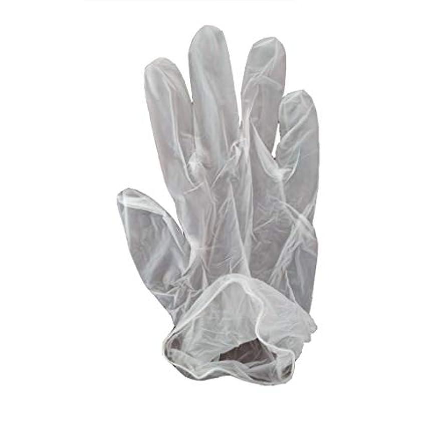 オアシス請求ショット100箱の使い捨て手袋、PVC手袋、透明で濃厚なヘアケア手袋。 (サイズ さいず : XL, UnitCount : 200 only)
