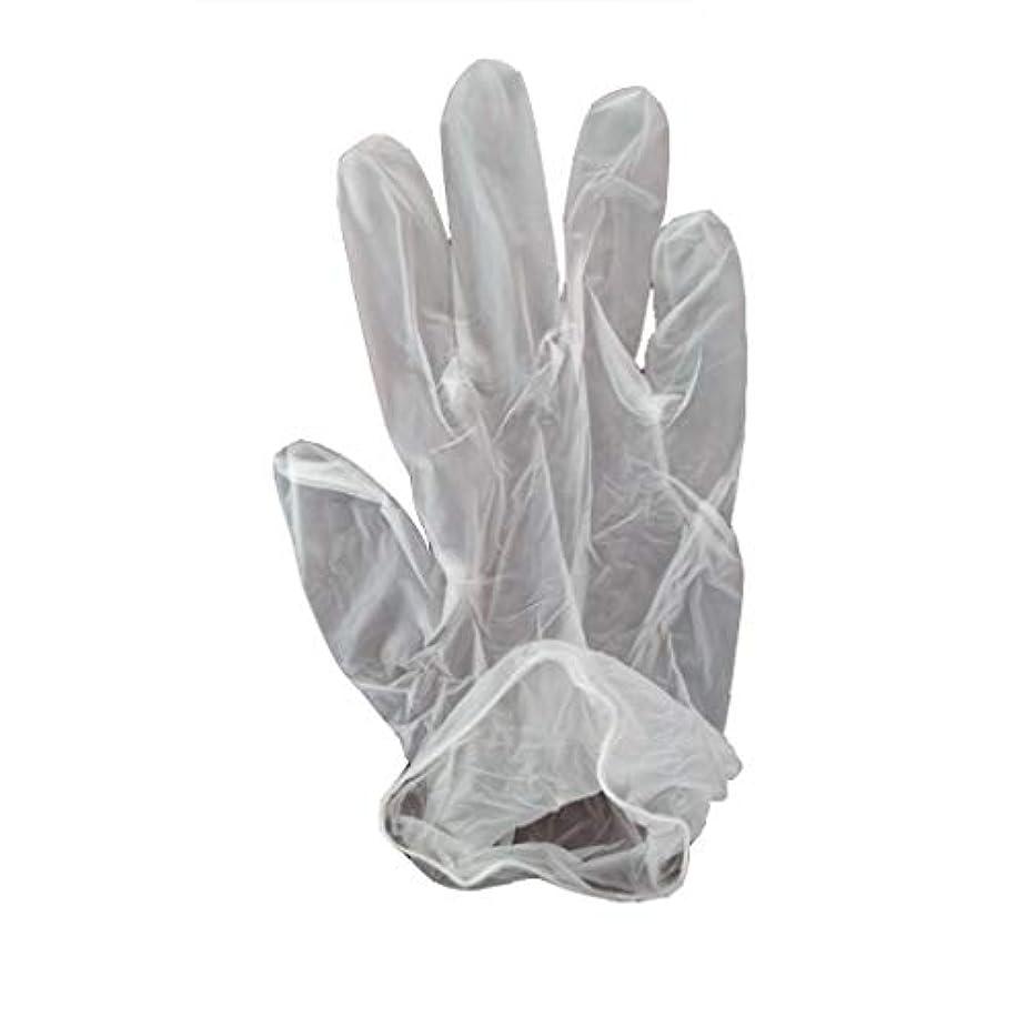 民間人ボランティア軽食100箱の使い捨て手袋、PVC手袋、透明で濃厚なヘアケア手袋。 (サイズ さいず : XL, UnitCount : 200 only)