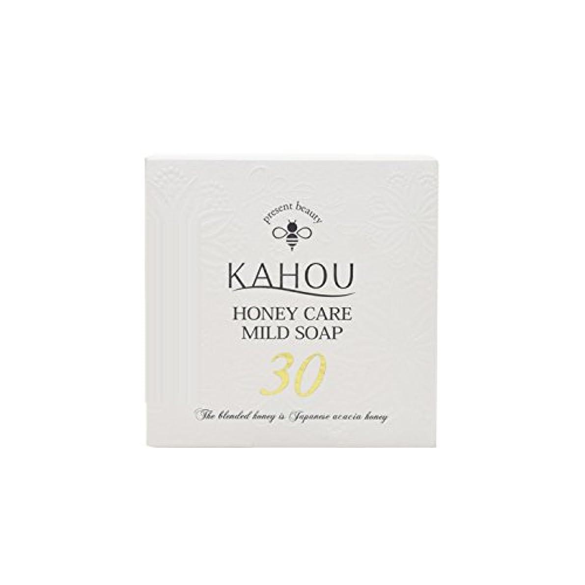 農学マット卒業KAHOU ハニーケアーマイルドソープサーティ90g