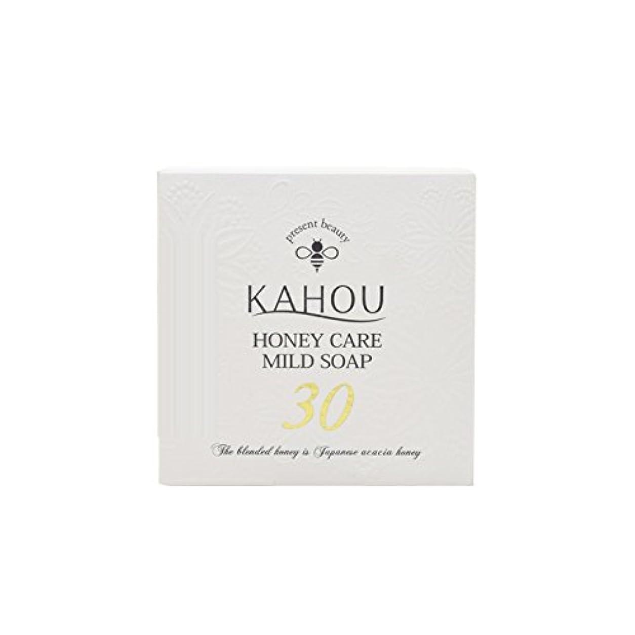データやる損失KAHOU ハニーケアーマイルドソープサーティ90g