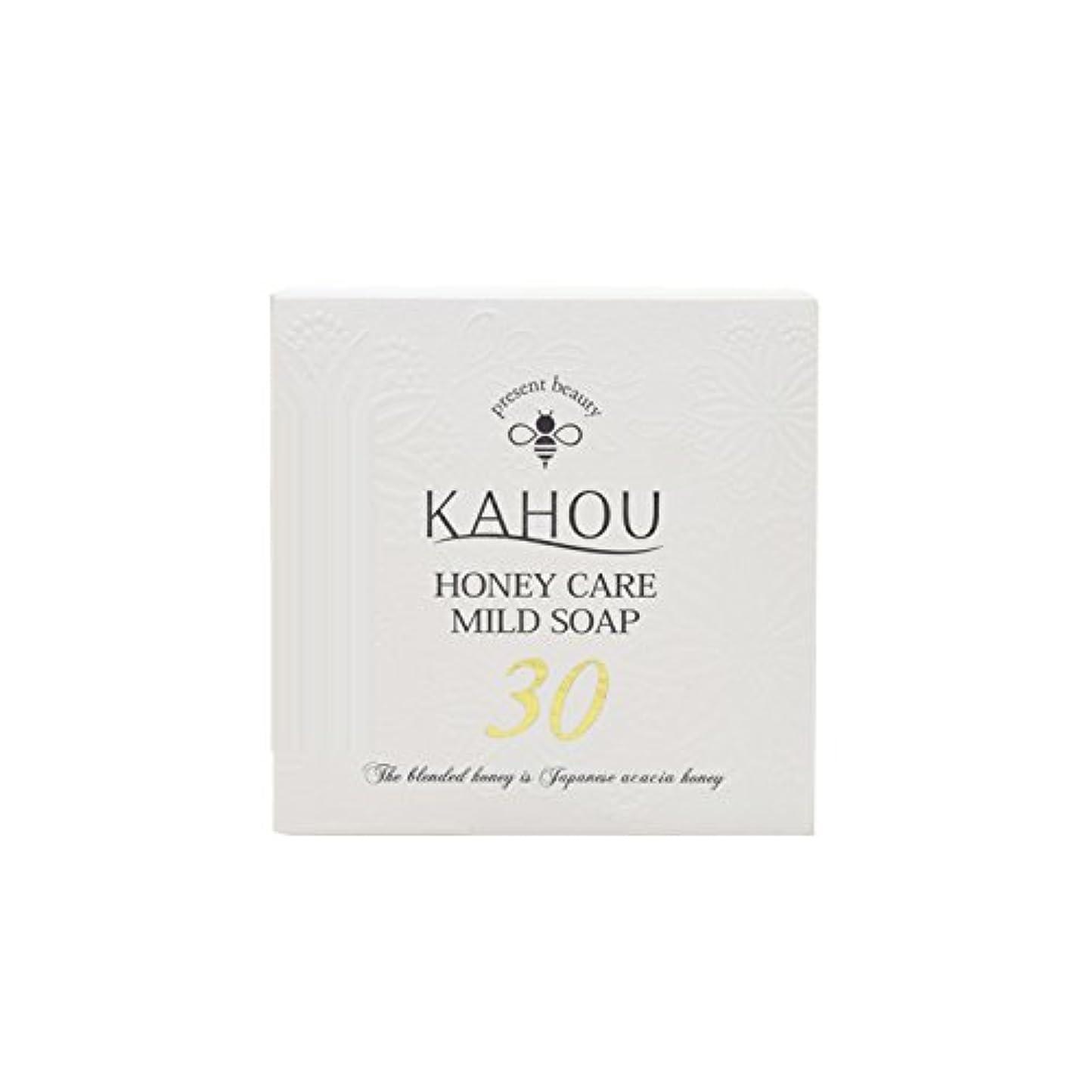 可能にする結婚呼吸KAHOU ハニーケアーマイルドソープサーティ90g
