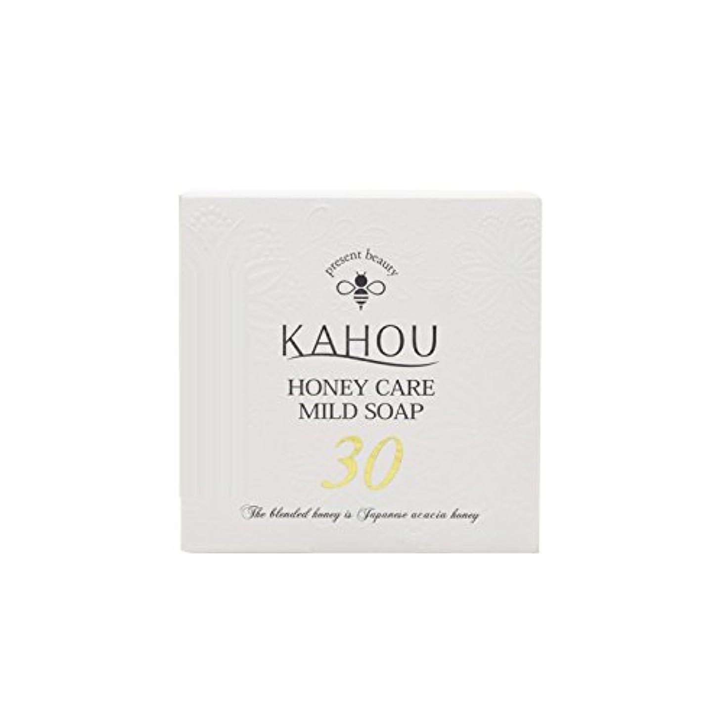多分進行中書誌KAHOU ハニーケアーマイルドソープサーティ90g