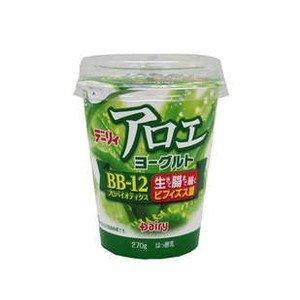 【冷蔵】【6個】アロエヨーグルト 270g 南日本酪農協同