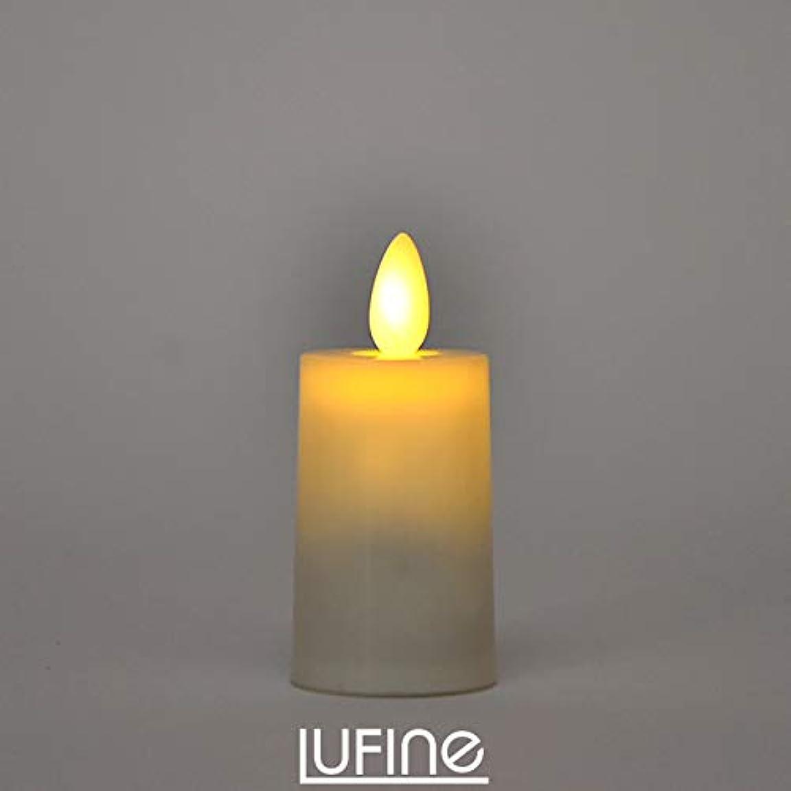 クリップと遊ぶマガジンLUFINE ルフィネ - LEDキャンドル ライト 6個 セット ナチュラル lufine005 ミドル ティーライト キャンドルライト ろうそく ゆらぎ 炎 ナイトライト インテリア 部屋 装飾 おしゃれ