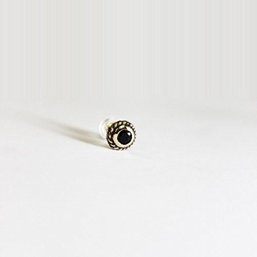 カスケードグリーンランド世界的にVIVIFY ビビファイ ピアス 18kゴールド ストーンSmall Stone Native Pierce/k18 受注生産 (オニキス)