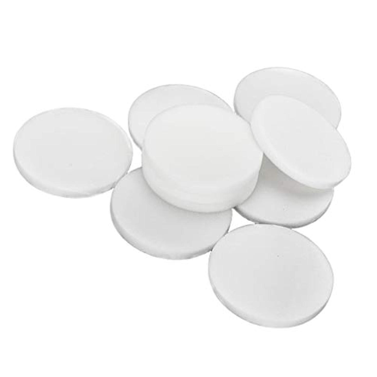 圧倒的不潔セラーPerfeclan 約10個 洗顔スポンジ 洗顔パフ メイクアップパフ フェイシャルスポンジ 全2サイズ - 大