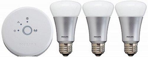 Philips hue(ヒュー) スターターセット 929000259901 エコパッケージ フラストレーションフリーパッケージ(FFP)
