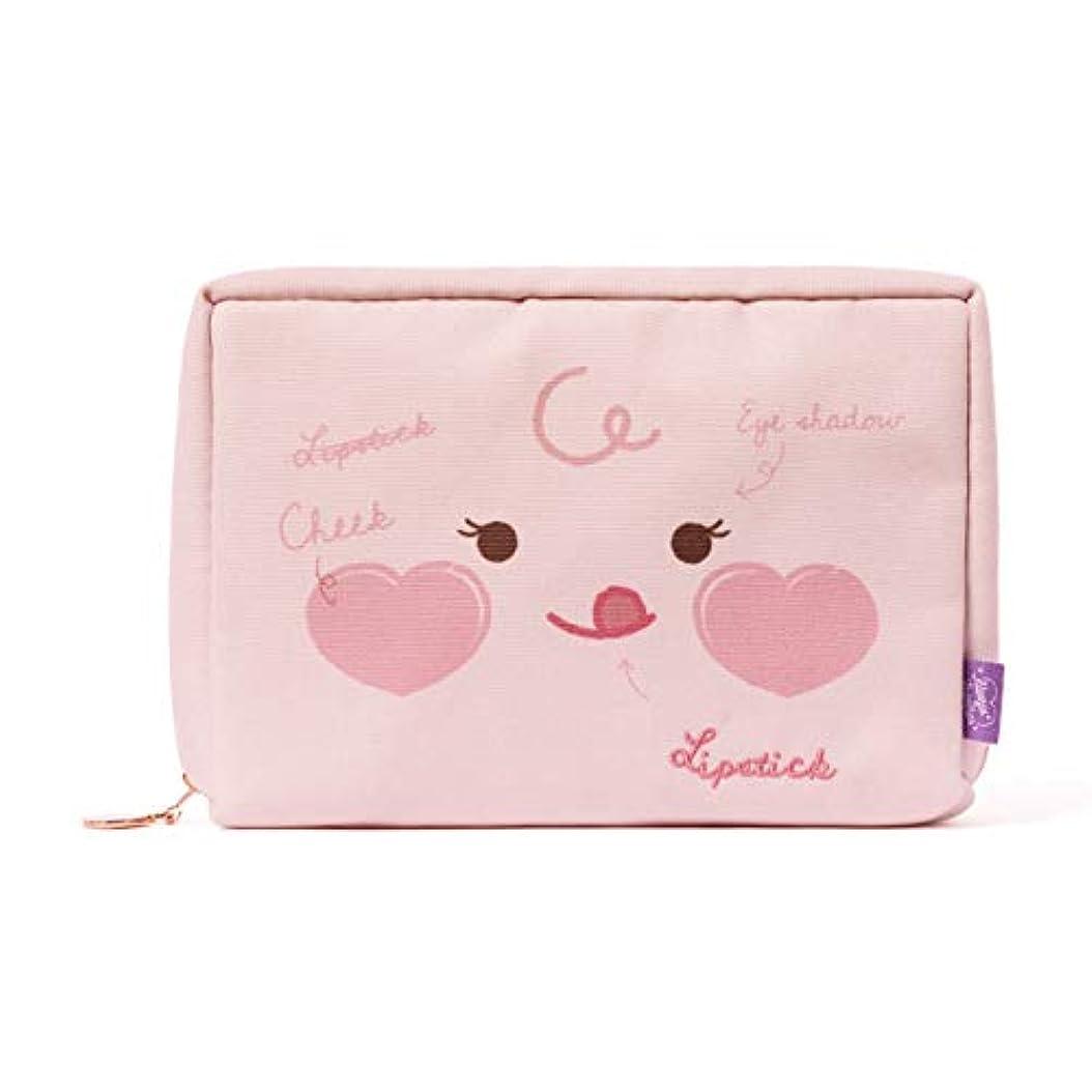 学士知覚的エントリ[オフィシャル] カカオフレンズ - TWICE EDITION (ミナ) コスメポーチ KAKAO FRIENDS - TWICE EDITION Cosmetic Bag by MINA