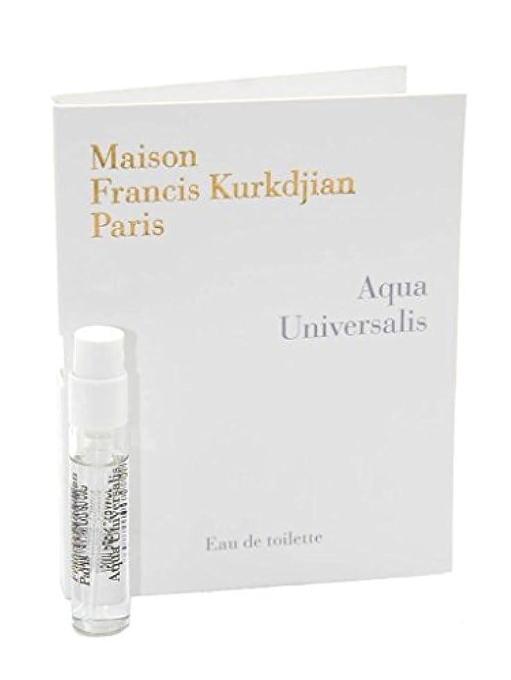 Maison Francis Kurkdjian Aqua Universalis EDT Vial Sample 2ml(メゾン フランシス クルジャン アクア ユニヴェルサリス オードトワレ 2ml)[海外直送品]...